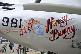 Lockheed P-38L Lightning NL7723C Honey Bunny, May 14, 2011